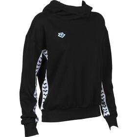 arena Team Pull à capuche Femme, black/white/black